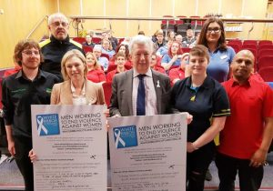 More than 4,000 in north-east sign up to tackle violence against women
